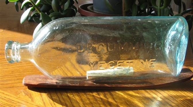 Frederick Krosch Water Bottle Dates to the Mid-1800s