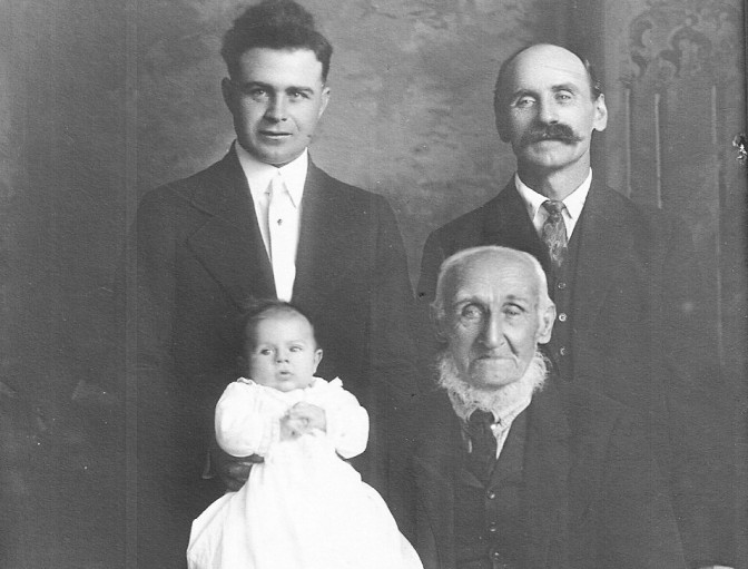 Remarkable Photos Show 4 Generations of Hannemans