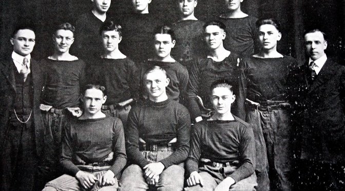 Carl Hanneman Played Football for Wisconsin Rapids Lincoln
