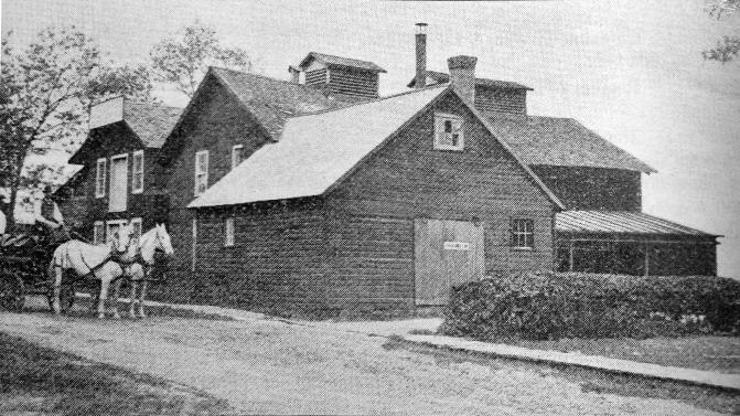 Hanneman Homestead Part of Brewery Complex