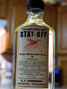 Carl F. Hanneman sold his insect repellent at bars and bait shops all over central Wisconsin.