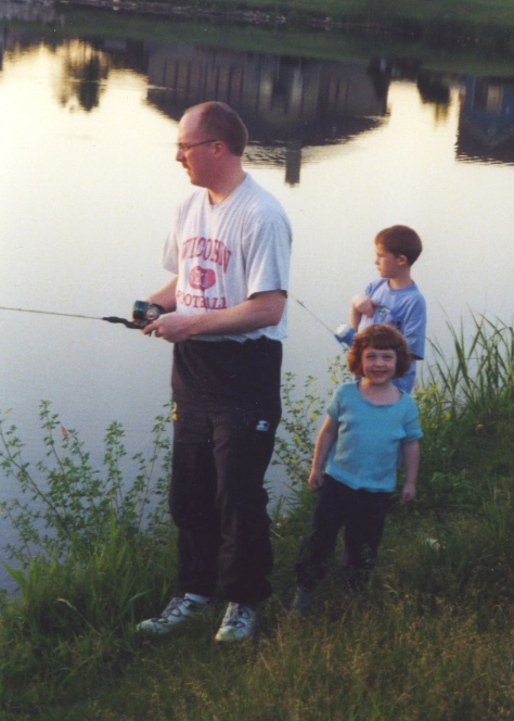 There was nothing like a lazy Sunday, fishing at the pond.