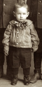 The earliest known photo of Carl Henry Frank Hanneman, born 28 Oct 1901.