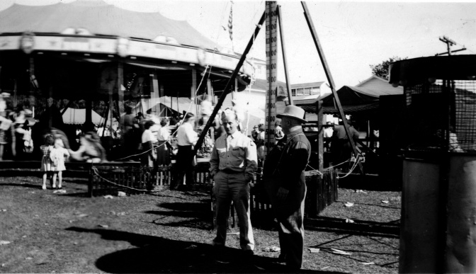World War II Hero at the Juneau County Fair