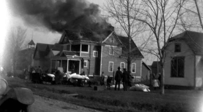 1926 Fire Destroyed St. James Rectory at Vesper