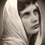 A beautiful portrait of Lavonne Hanneman, circa 1955.