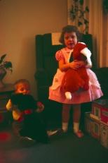 David C. Hanneman and Laura Mulqueen Curzon, circa 1965.