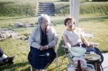 Grandma Margaret M. Mulqueen along with Aunt Evelyn Mulqueen.