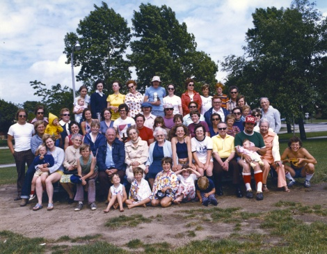 From a mid-1970s Mulqueen reunion.