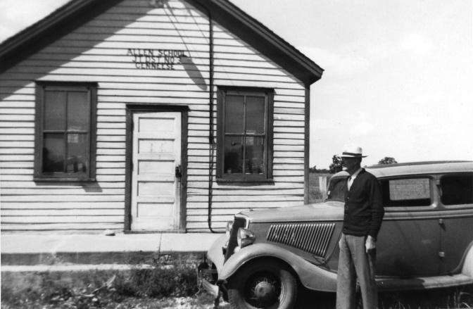 Oscar Treutel Goes Back to School in August 1942