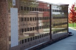 Columbarium wall at Southern Wisconsin Veterans Memorial Cemetery.