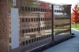 Columbarium wall at Southern Wisconsin Veterans Memorial Cemetery.