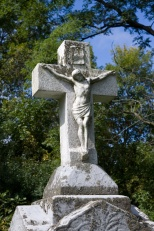 This crucifix shows some of the carver's artistry.