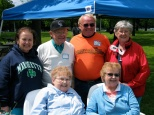 One of the last Mulqueen family reunions. Back row left to right are Aunt Ruth (Mulqueen) McShane, Uncle Patrick Mulqueen, Uncle Joe Mulqueen and Aunt Joanie (Mulqueen) Haske. Front row includes Sister Madonna Marie Mulqueen and Mom, Mary K. Hanneman.