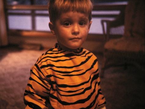David C. Hanneman was a tiger for Halloween 1964.