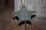 Civil War veteran's grave, West Bend, Wis.