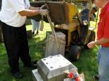 Knights of Columbus repair vandalism in Racine, Wis.
