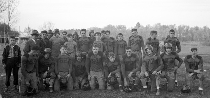 Mauston Football Wins Conference Crown in 1947