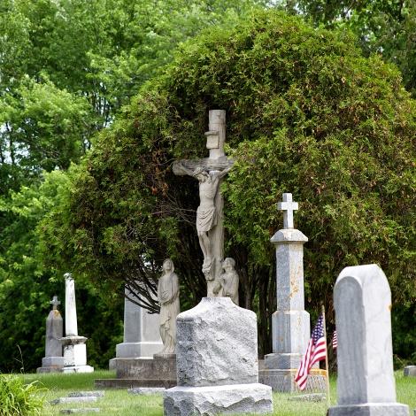 St. Patrick's Catholic Cemetery, Mauston, Wis.