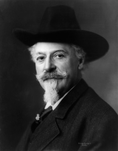 "William F. ""Buffalo Bill"" Cody in a late-life portrait (Library of Congress Photo)"