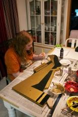 Samantha J. Hanneman spent hours repainting and restoring her Grandpa's Nativity set.
