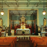 The St. Mary's Hospital chapel as it looked in the 1950s.