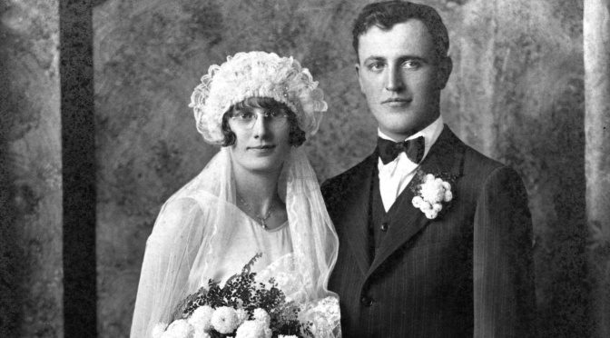 Wedding Wednesday: Esther M. Albrecht and Emil R. Gottschalk