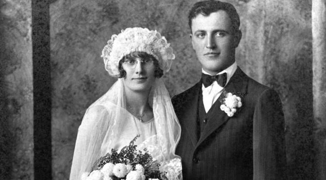 Wedding Wednesday: Esther M. Albrecht and Emil R. Gottschalk