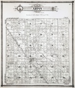 Town of Arpin, Wood County, Wisconsin (1909)