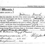 Declaration of Intent for William Krosch