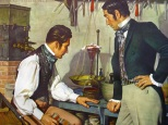 Taking their cue from Sertürner's alkaloidal experiments, two French pharmacists, Messrs. Pierre-Joseph Pelletier and Joseph-Bienaimé Caventou, isolated emetine from ipecacuanha in 1817; strychnine and brucine from nux vomica in 1818; then, in their laboratory in the back of a Parisian apothecary shop, they tackled the problem that had baffled scientists for decades - wresting the secrets of the Peruvian barks that were so useful against malaria. In 1820 Caventou and Pelletier announced the methods for separation of quinine and cinchonine from the cinchona barks; prepared pure salts, had them tested clinically, and set up manufacturing facilities. Many other discoveries came from their pharmacy-laboratory; high honors were accorded them.