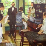 When Dr. Albert B. Prescott launched the pharmacy course at the University of Michigan in 1868, critical attention was aroused because he abandoned the traditional requirement of pregraduation apprenticeship. At the 1871 convention of the American Pharmaceutical Association, he was denied credentials and ostracized. However, the Michigan course pioneered other major changes: laboratory pharmacy, a definite curriculum that included basic sciences, and a program that demanded students' full-time attention. During the next thirty years, Dr. Prescott had the satisfaction of seeing his once revolutionary innovations generally adopted by pharmaceutical faculties.