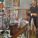 "Despite the professional skill and integrity of 19th-century pharmacists, seldom did two preparations of vegetable drugs have the same strength, even though prepared by identical processes. Plant drugs varied widely in active alkaloidal and glucosidal content. The first answer to this problem came when Parke, Davis & Company introduced standardized ""Liquor Ergotae Purificatus"" in 1879. Dr. Albert Brown Lyons, as the firm's Chief Chemist, further developed methods of alkaloidal assay. Messrs. Parke and Davis recognized the value of his work, and in 1883, announced a list of twenty standardized ""normal liquids."" Parke-Davis also pioneered in developing pharmacologic and physiologic standards for pharmaceuticals."
