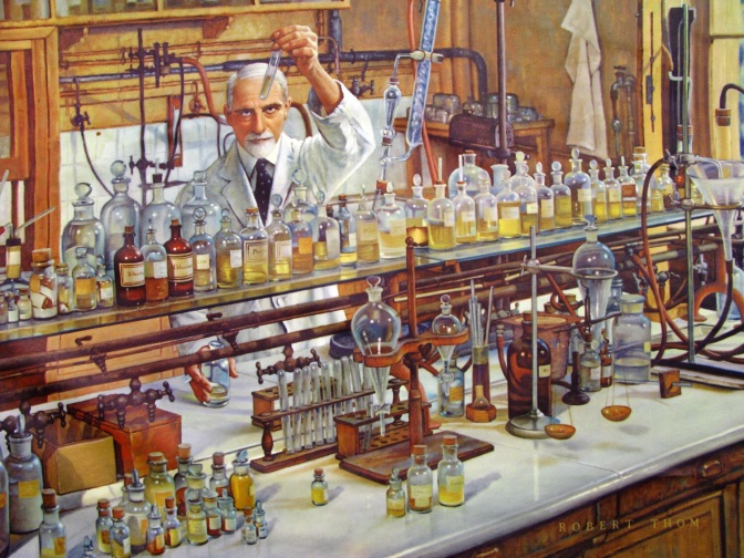 The History of Pharmacy by Artist Robert Thom