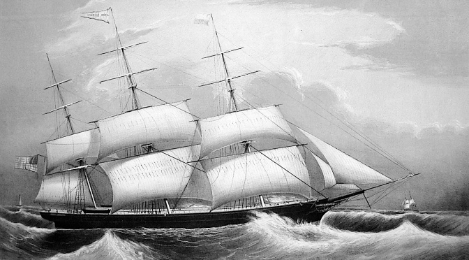 Fred Hannemann's Terror-Filled 1863 Ship Voyage to America