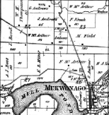 Frederick Krosch's farm was in Section 23 on this 1870 Mukwonago-area map.