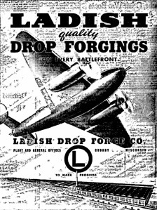 Ladish Drop Forge in Cudahy was one of many Milwaukee-area companies in war production.
