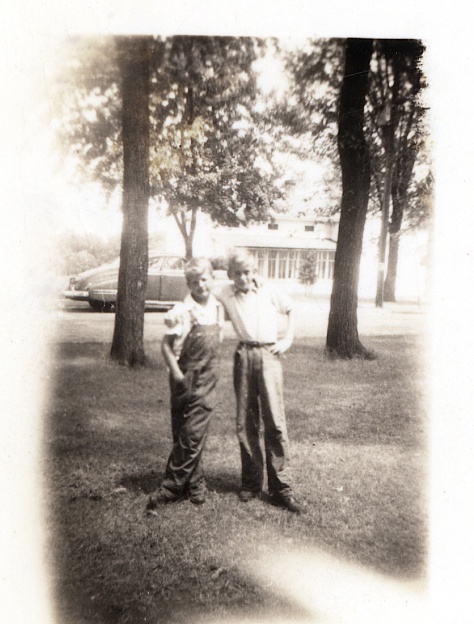 Bob Firlus (at left) and Sam Kaufman, circa 1940.