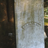 The grave of Christiana (Schlagel) Krosch at Elmore, Minnesota.