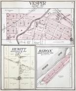 Village of Vesper, Town of Hansen, Wood County, Wisconsin (1909)