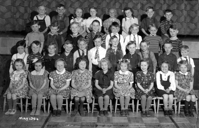 Eye on the Past: Mauston First-Grade Class of 1940