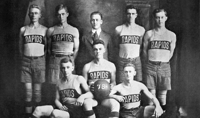 Grand Rapids Nabs 1918 Basketball Championship