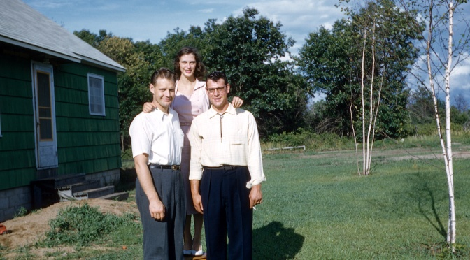 Eye on the Past: Kodachrome Trio 1956