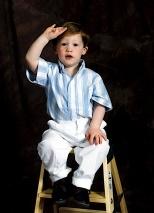 Toddler Salute