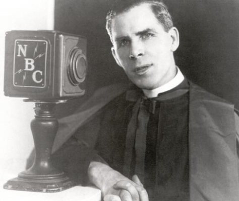 Fulton J. Sheen had a long tenure on radio hosting the Catholic Hour on NBC.