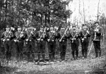 The Foresters drill team from the Modern Woodmen of America post in Vesper, Wisconsin. Read more about it here: http://wp.me/p4FxQb-zo