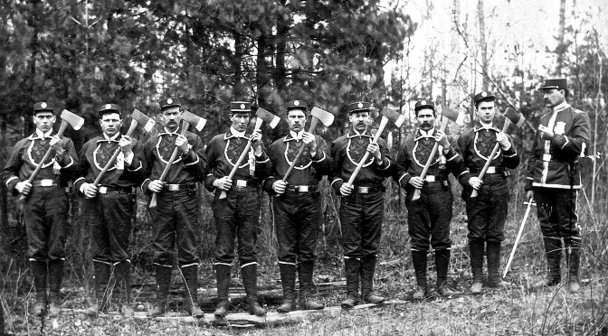Eye on the Past: Foresters Drill Team