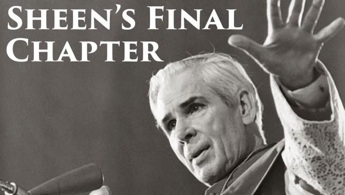 Unpublished Chapter a Portrait of Sainthood for Fulton J. Sheen