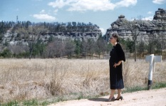 Taken in the late 1950s on a trip to Arizona, this photo of Ruby Hanneman is worthy of Life Magazine.