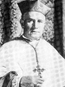 Bishop (later Cardinal) Patrick J. Hayes said Mass at the Camp Dix parade grounds in May 1918.